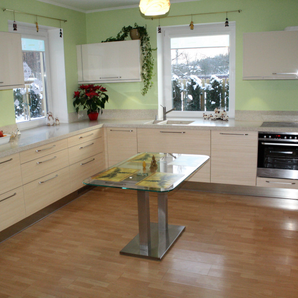 Kitchen in private residence